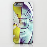 iPhone & iPod Case featuring Empty Station-Abstract by Efua Boakye