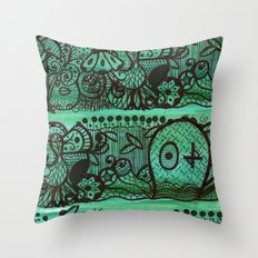 enchanted wood Throw Pillow