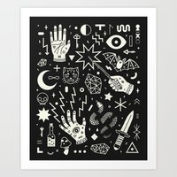 halloween Art Prints featuring Witchcraft by LordofMasks