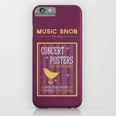 Hipster Concert Posters … iPhone 6 Slim Case