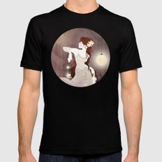 Rapunzel SMALL Black Mens Fitted Tee