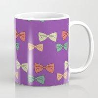 Hipster Bow Tie  Mug