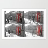 The Red Box Art Print
