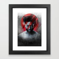The Pain Lets You Know T… Framed Art Print