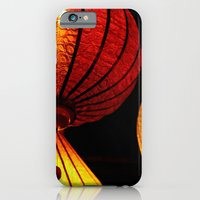 iPhone & iPod Case featuring Neon Lanterns by silverstreaked