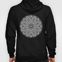 Black And White Floral K… Hoody