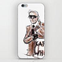 Karl who? iPhone & iPod Skin