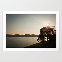 Lake Cumberland Sunset Art Print