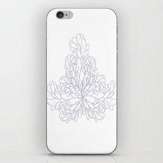 Periwinkle & White Fluid… iPhone & iPod Skin