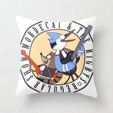 Mordecai and the Rigbys Throw Pillow