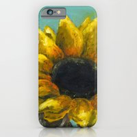 iPhone & iPod Case featuring Ithaca Sunflower by Devin Sullivan