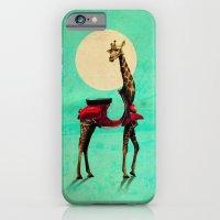 giraffe iPhone & iPod Cases featuring Giraffe by Ali GULEC