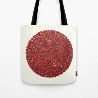 Red Target Tote Bag