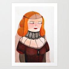 Lucrecia Art Print