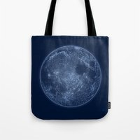 Dark Side of the Moon - Painting Tote Bag