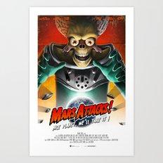 Mars Attacks ! Art Print