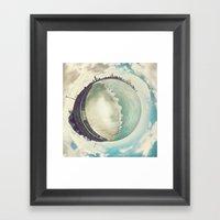 Tiny Planet Chicago Framed Art Print