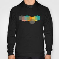 Color Study Cubes Hoody
