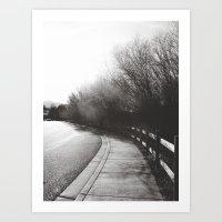 Around The Bend Art Print