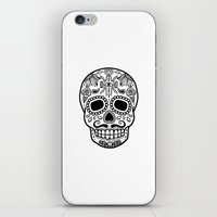 Mexican Skull - White Edition iPhone & iPod Skin