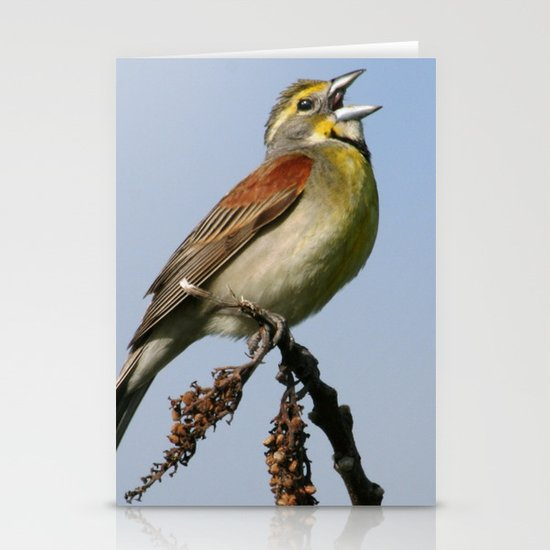 Dickcissel Stationery Card