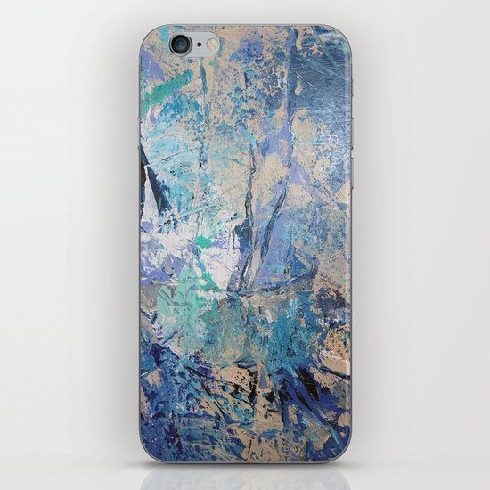 Clash of Tides (3 of 3) iPhone & iPod Skin
