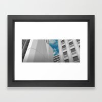 When the Wind Blows Framed Art Print