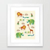 animals1 Framed Art Print