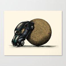 Volksdung Beetle Canvas Print
