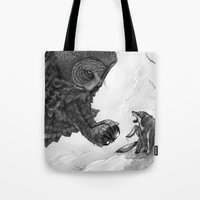 One Winter's Due Tote Bag