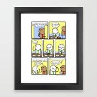 Antics #268 - hypathetical Framed Art Print