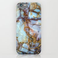 city iPhone & iPod Cases featuring Marble by Patterns and Textures