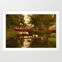Bridge That Needs Crossi… Art Print