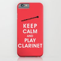 Keep Calm And Play Clari… iPhone 6 Slim Case