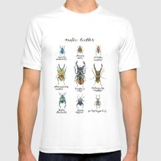 Exotic Beetles Mens Fitted Tee White SMALL