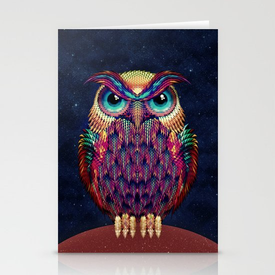 OWL 2 Stationery Card