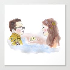 Sam and Suzy, Moonrise Kingdom Canvas Print