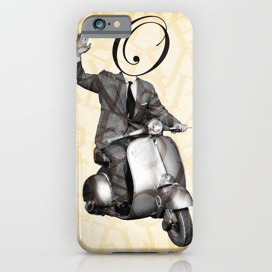 Mr O on his vespa iPhone & iPod Case
