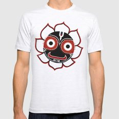 Jagannath Mens Fitted Tee Ash Grey SMALL