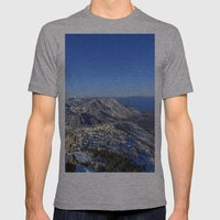 Maggies Peak Mens Fitted Tee Athletic Grey SMALL