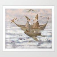 A Mystical Voyage Art Print