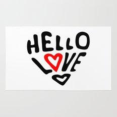 Hello Love Rug