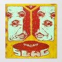 Slag Box 2 Canvas Print