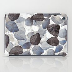 Blue Leaves iPad Case
