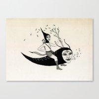 Joyous Flight Canvas Print