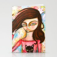 The Black Cat Princess Stationery Cards
