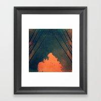 Presence (Pilliar of Cloud/Pillar of Fire) Framed Art Print