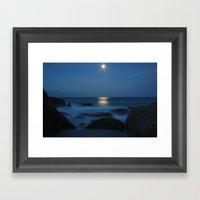 Bay Of Fire Framed Art Print
