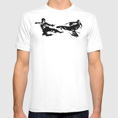 Duel Mens Fitted Tee White SMALL