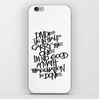 Divide Us iPhone & iPod Skin